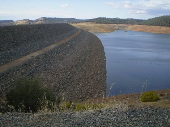 Oroville, Καλιφόρνια: Tallest Dam in the United States