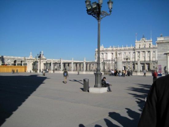 Det Kongelige Palass i Madrid: Courtyard - Palacio Real