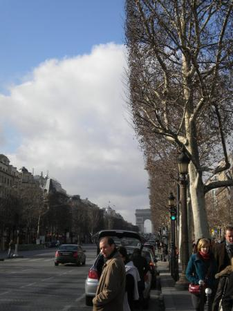 Bilde fra Champs-Elysees