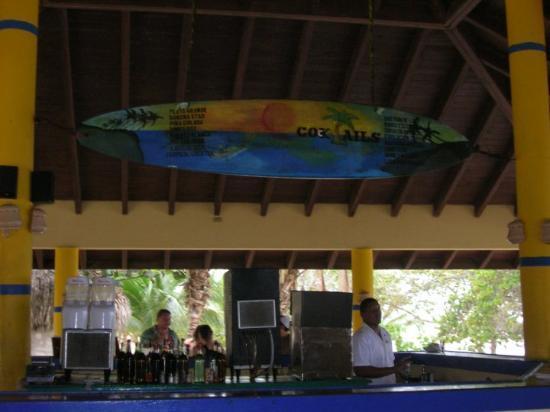 Luperon, Dominikanische Republik: the beach bar