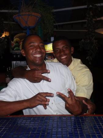 Luperon, Dominikanische Republik: <3 My boys, Luis and Billy <3