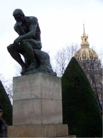Musee Rodin: The THINKER