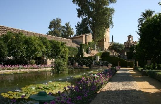 Gardens of the Real Alcazar Cordoba