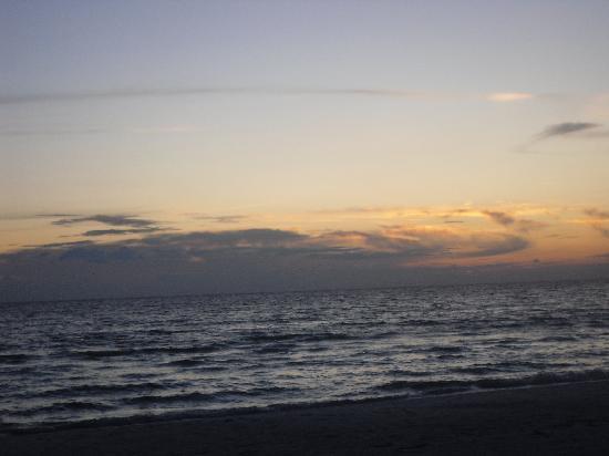 Crescent Arms Condominiums: on the beach