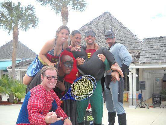 Club Med Sandpiper Bay: Superheroes!