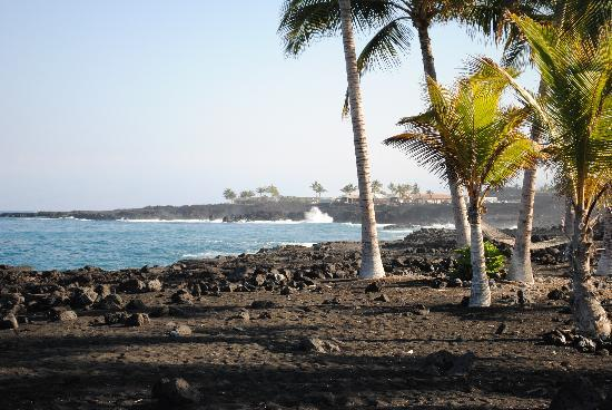 Even So I Would Much Rather Get Married At Kona Village Than Drive To Puna And Use Any Of The Accessible Black Sand There