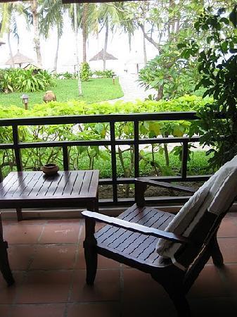 Evason Ana Mandara Nha Trang: View from the porch of our private villa