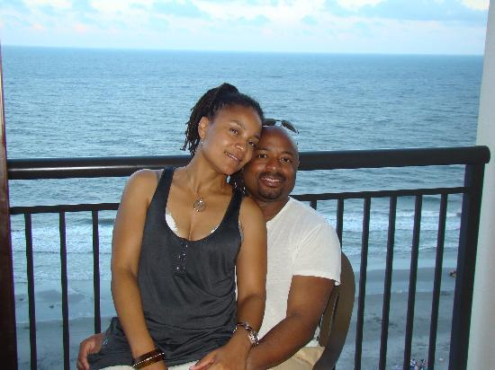 Caribbean Resort And Villas: Huby & Wife