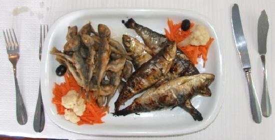 Mercado do Peixe: horse mackerel and sardines