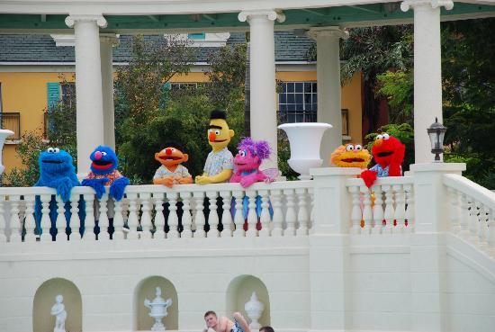 Beaches Turks & Caicos Resort Villages & Spa: We all love the Sesame St characters