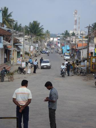 Belur - main street