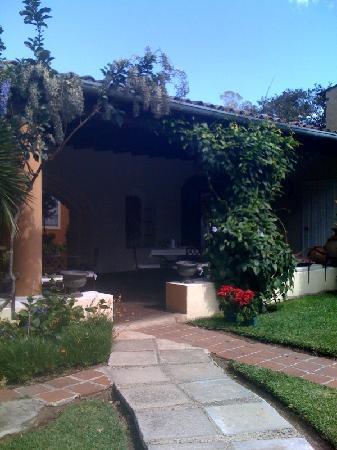 Casa Santa Rosa Hotel Boutique: restaurante/area de desayuno