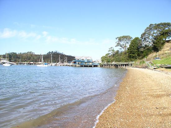 The Boathouse: View from the beach
