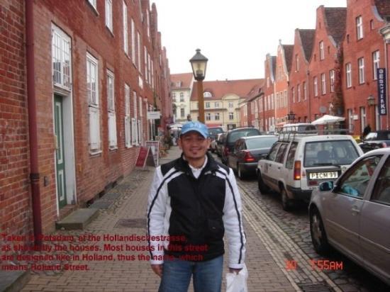 Potsdam, Tyskland: Hollandischenstrasse