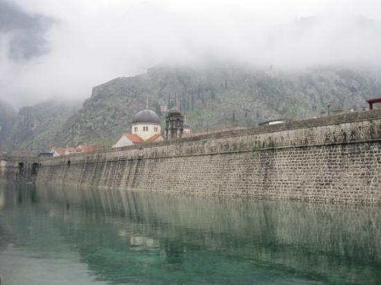 Kotor, Montenegro: City walls 2. Day light.
