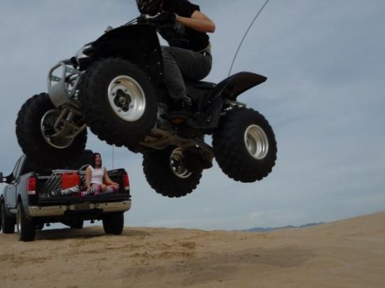 Pismo Beach, CA: Dillon jumping