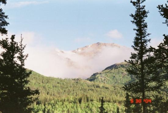 Denali National Park and Preserve, AK: Mt Healy in our backyard