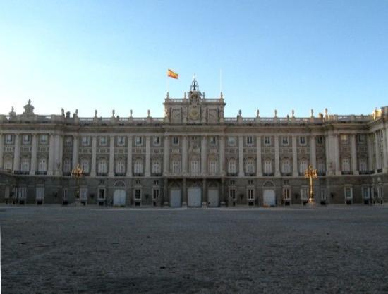 Det Kongelige Palass i Madrid: Palacio Real  Madrid, España