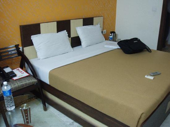 Hotel Anand: Bedroom 1 (2nd floor)