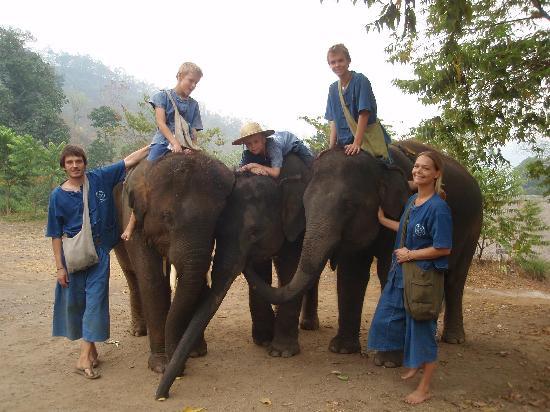 Thai Elephant Home: Saying goodbye and see you!!!