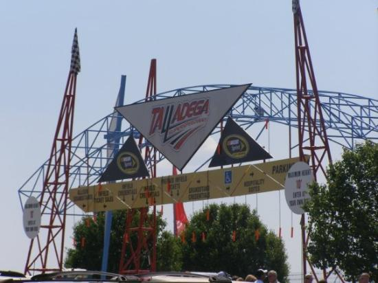 Talladega Superspeedway's entrance
