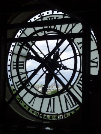 Musée d'Orsay: The clock at the Musee d'Orsay.