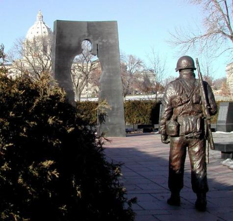 Saint Paul, MN: MN Korean War Veteran's Memorial, St. Paul