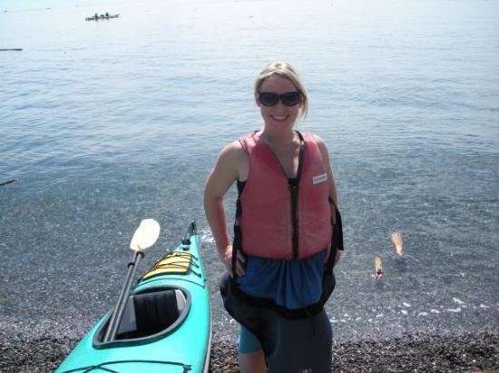 Friday Harbor, WA: Me and my sweet spray skirt!