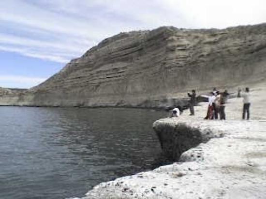 Puerto Madryn, Argentina: un acantilado hermoso