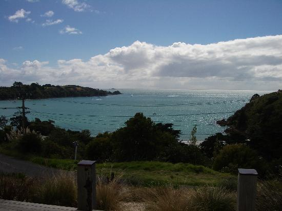 The Boatshed: View from the terrace