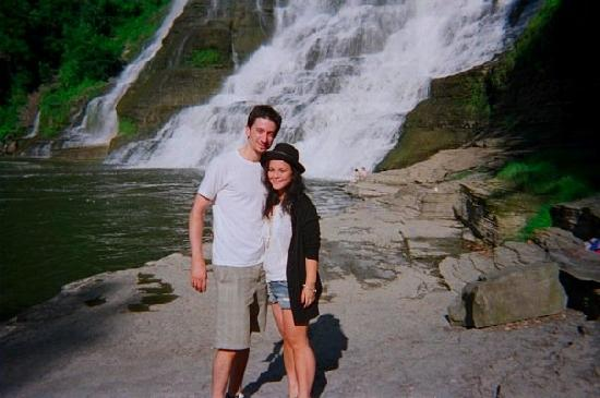 Silver Strand at Sheldrake: Waterfalls in Ithaca