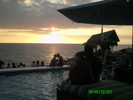 Sunset at the Palms: il tramonto dal rick's cafè
