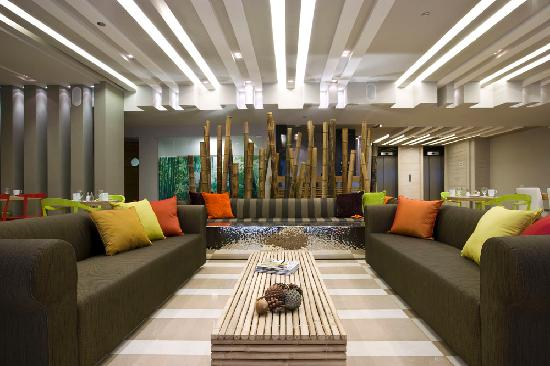 Sadot Hotel , Ben Gurion Airport - an Atlas Boutique Hotel: lobby and business lounge