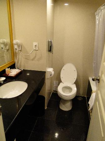 Lao Plaza Hotel: bagno