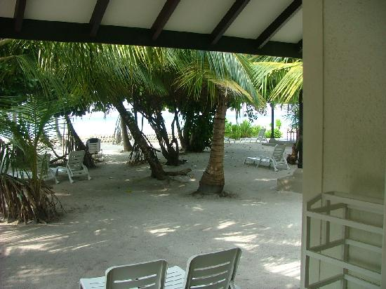 Adaaran Select Meedhupparu: view from our room