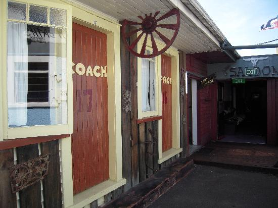 "Cactus Jacks Backpackers: Some of the ""outside"" rooms"