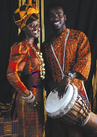Gold Restaurant: Be entertained by our African Dancers and Drummers