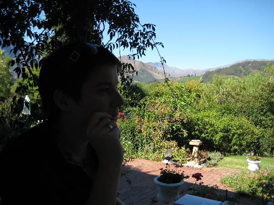 The Garden House: Die Aussicht von der Veranda