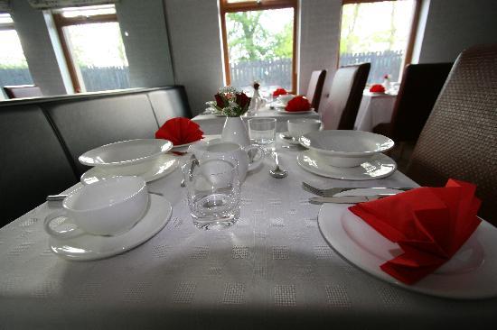Kings Lodge Guest Accommodation: Tea room