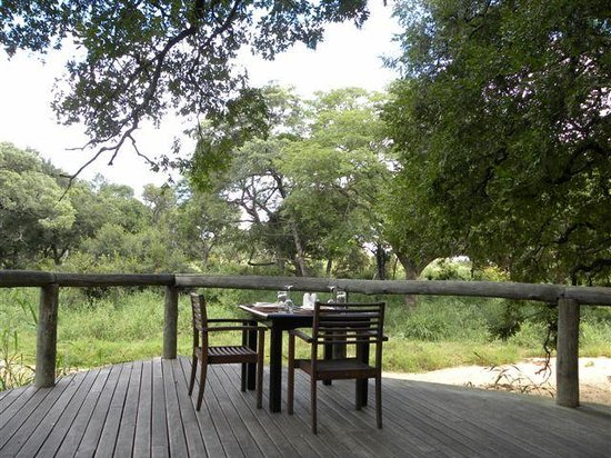 Tintswalo Safari Lodge: view from lunch