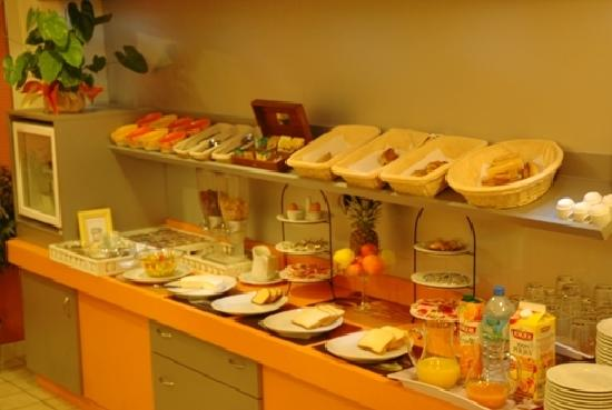 Hotel Austria : Le buffet du petit déjeuner