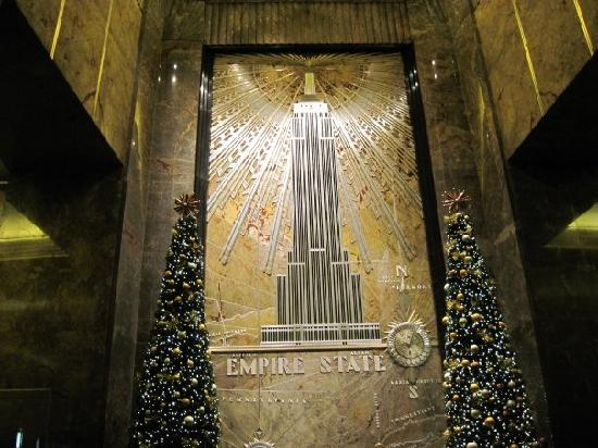 Empire State Building: Lobby
