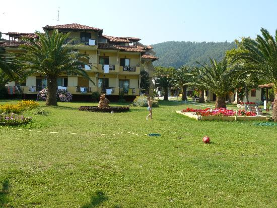 Hotel Vergos: From the sea
