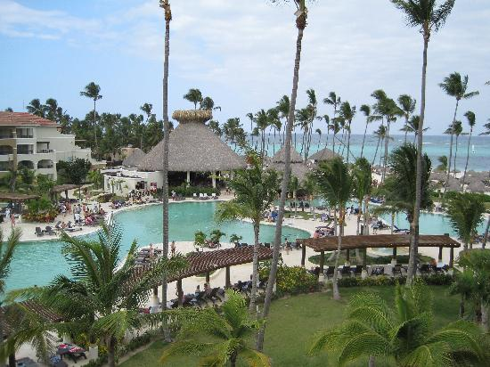 Now Larimar Punta Cana: pool view from top floor