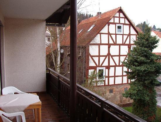 Landhotel Zinn: Zimmer Balkon