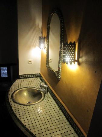 Riad Laayoun: toilet