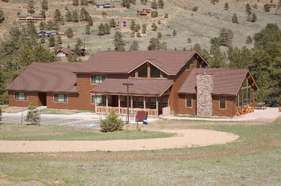 YMCA of the Rockies: One of our new reunion cabins