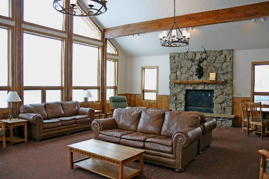 YMCA of the Rockies: The interior of one of our new reunion cabins