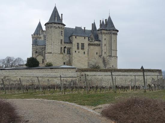 La Milaudiere: chateau de saumur