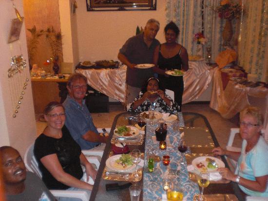 Pallagino Guest House: repas fabuleux